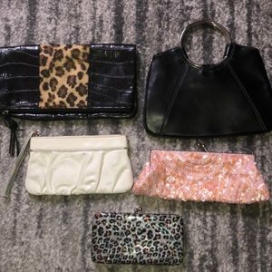 Bundle/Lot of Clutches & Bags